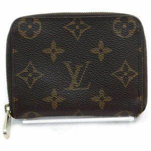 Auth Louis Vuitton Coin Purse Zippy #8194L12